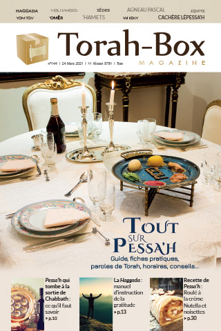 Torah-Box Magazine n°144 - France - Tsav